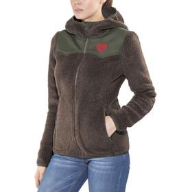 Maloja MakowaM. Hooded Fleece Jacket Dam mushroom